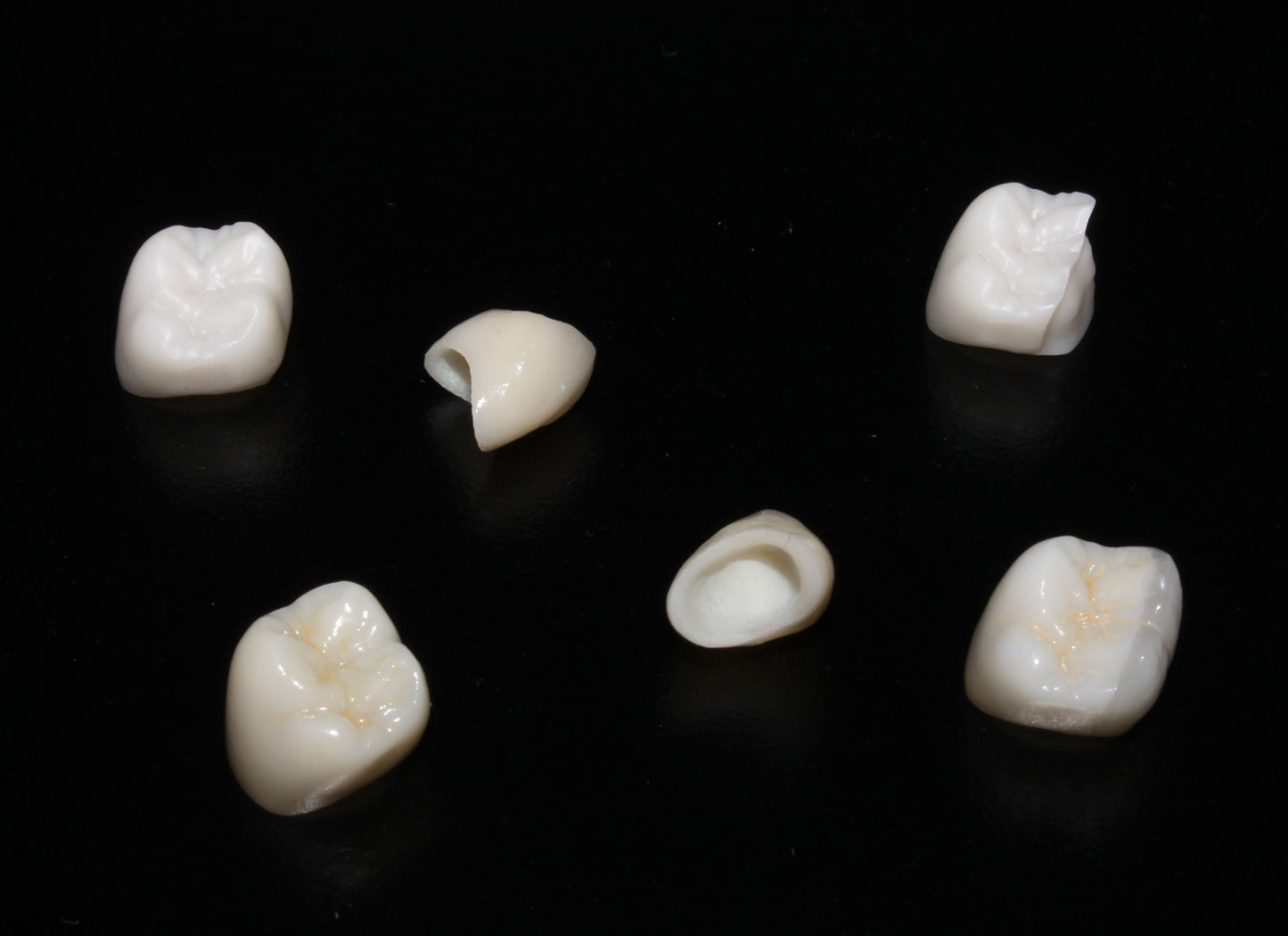 Zirconia+ plus crowns
